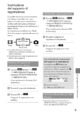 Mode d'emploi Sony HDR-CX520VE Camescope - Page 249