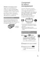 Mode d'emploi Sony HDR-CX520VE Camescope - Page 45