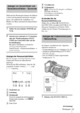 Mode d'emploi Sony HDR-FX1E Camescope - Page 163