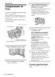 Mode d'emploi Sony HDR-FX1E Camescope - Page 20
