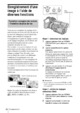 Mode d'emploi Sony HDR-FX1E Camescope - Page 38