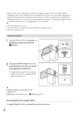 Mode d'emploi Sony HDR-GW77E Camescope - Page 24