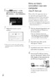 Mode d'emploi Sony HDR-TG5VE Camescope - Page 162