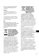 Mode d'emploi Sony HDR-TG5VE Camescope - Page 3