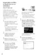 Mode d'emploi Sony HDR-TG5VE Camescope - Page 32