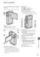 Mode d'emploi Sony HDR-TG7VE Camescope - Page 261