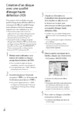 Mode d'emploi Sony HDR-TG7VE Camescope - Page 34