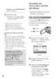 Mode d'emploi Sony HDR-XR100E Camescope - Page 108