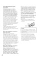 Mode d'emploi Sony HDR-XR100E Camescope - Page 184