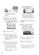 Mode d'emploi Sony HDR-XR100E Camescope - Page 26