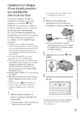 Mode d'emploi Sony HDR-XR200E Camescope - Page 29