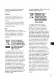 Mode d'emploi Sony HDR-XR200E Camescope - Page 3
