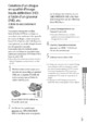 Mode d'emploi Sony HDR-XR200E Camescope - Page 37