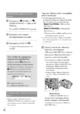 Mode d'emploi Sony HDR-XR200E Camescope - Page 42