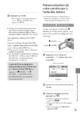 Mode d'emploi Sony HDR-XR200E Camescope - Page 43