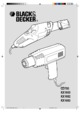 Black and Decker KX1682 Décapeur Thermique