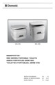 Dometic 965 Sanipottie Portable Toilette