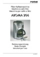 Rotel Aroma 206 Cafetière