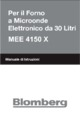 Mode d'emploi Blomberg MEE 4150 X Micro-Onde - Page 99