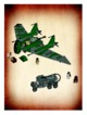 Mode d'emploi Lego set 7683 Indiana Jones Fight on the flying wing - Page 58