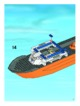 Mode d'emploi Lego set 7739 City Coast guard patrol boat and tower - Page 17
