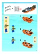 Mode d'emploi Lego set 7739 City Coast guard patrol boat and tower - Page 3