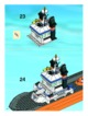Mode d'emploi Lego set 7739 City Coast guard patrol boat and tower - Page 34