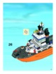Mode d'emploi Lego set 7739 City Coast guard patrol boat and tower - Page 37