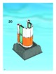 Mode d'emploi Lego set 7739 City Coast guard patrol boat and tower - Page 62