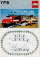 Mode d'emploi Lego set 7745 Trains High speed train - Page 1