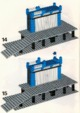 Mode d'emploi Lego set 7838 Trains Freight loading depot - Page 10
