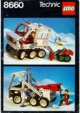Mode d'emploi Lego set 8660 Technic Arctic rescue unit - Page 1