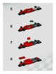 Mode d'emploi Lego set 8672 Racers Ferrari finish line - Page 9