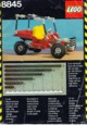Mode d'emploi Lego set 8845 Technic Dune buggy - Page 1