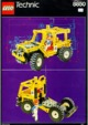 Mode d'emploi Lego set 8850 Technic Rally support truck - Page 1