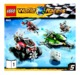 Mode d'emploi Lego set 8863 World Racers Blizzards peak - Page 1