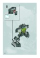 Mode d'emploi Lego set 8962 Power Miners Crystal king - Page 20