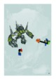 Mode d'emploi Lego set 8962 Power Miners Crystal king - Page 37