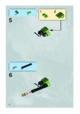 Mode d'emploi Lego set 8962 Power Miners Crystal king - Page 6
