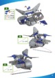 Mode d'emploi Meccano set 7101 Space Chaos Silver force destroyer - Page 9