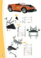 Mode d'emploi Meccano set 8950 Tuning RC street racer - Page 14