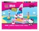 Mode d'emploi Mega Bloks set 10955 Hello Kitty Sailboat - Page 1